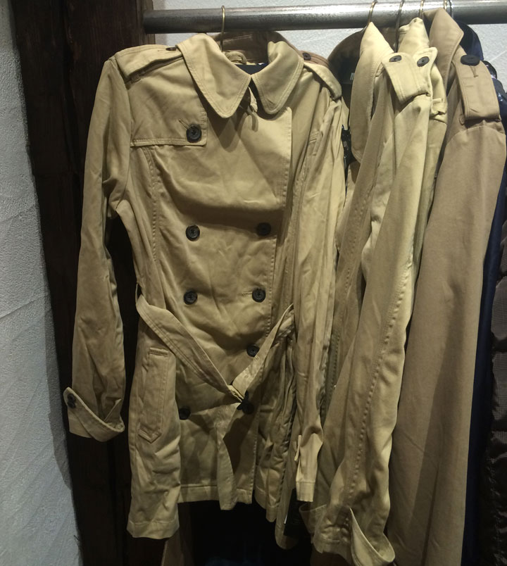Trench Coats for $40