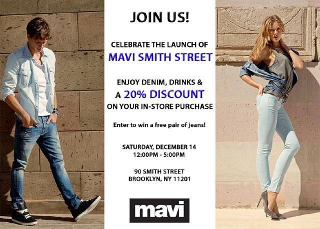 Mavi Smith Street Store Launch Event