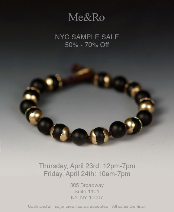 Me&Ro NYC Sample Sale