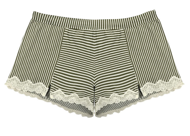 Meera cotton with lace trim boxer short: $20 (orig. $60)
