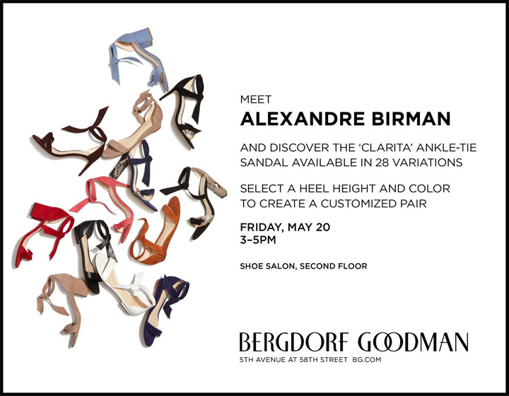 Meet Designer Alexandre Birman at Bergdorf Goodman