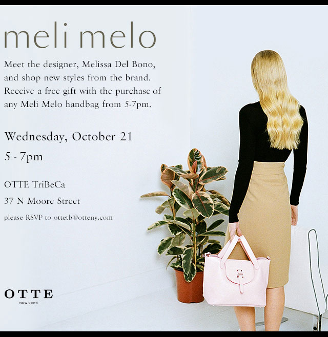 Meli Melo Trunk Show at OTTE Tribeca