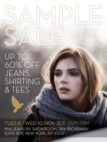 MiH Jeans Sample Sale