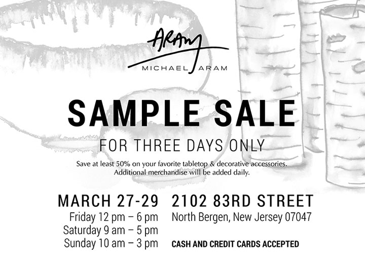 Michael Aram Home Accessories New York Sample Sale ...