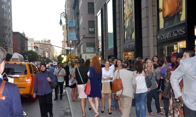 MICHAEL KORS Fashion's Night Out 2012