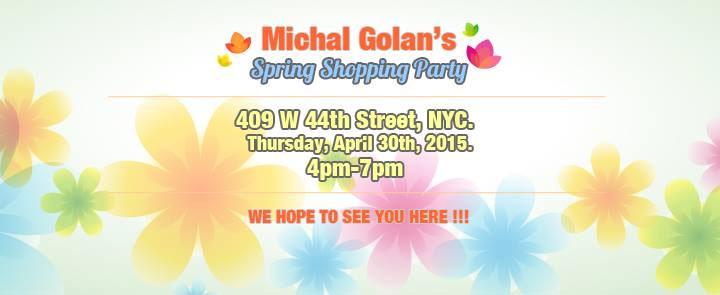 Michal Golan Sample Sale