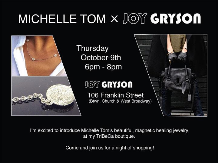 Michelle Tom Jewelry @ Joy Gryson Boutique