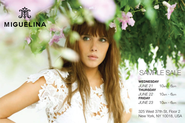 Miguelina Sample Sale