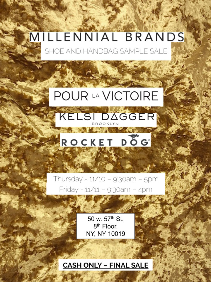 Millennial Brands Sample Sale