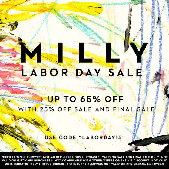 Milly Labor Day Sale