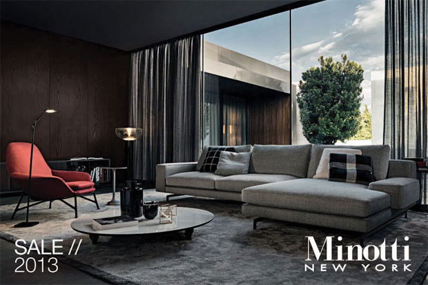 Minotti Annual Floor Sample Sale