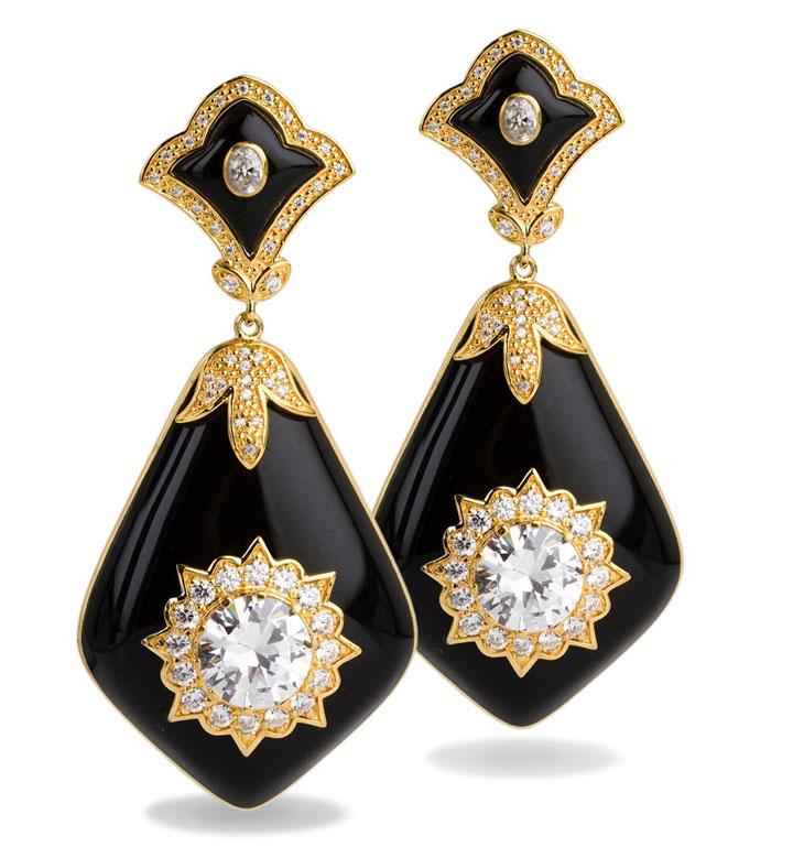 Miriam Salat Holiday Sample Sale Glamour earrings: original price $550, sale price $125