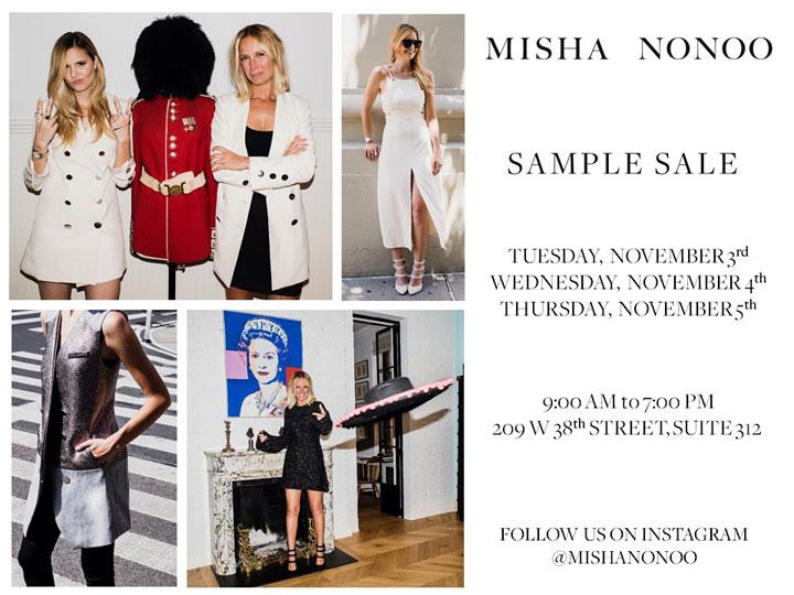 Misha Nonoo Sample Sale