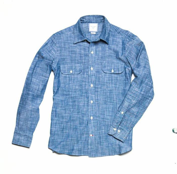 Mitchell Work Shirt: $58 (orig. $155)