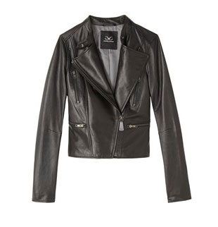 Leather Capelet Moto Jacket: $100 (orig. $995)