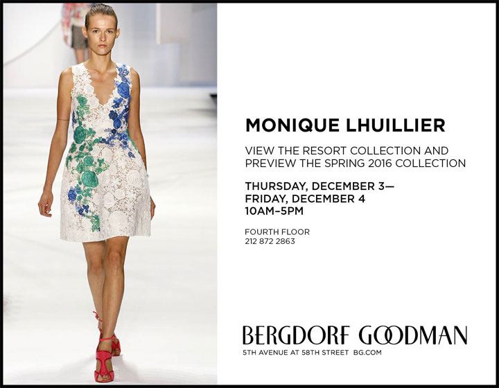 Monique Lhuillier Trunk Show