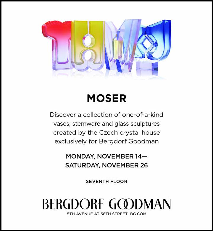 Moser Trunk Show