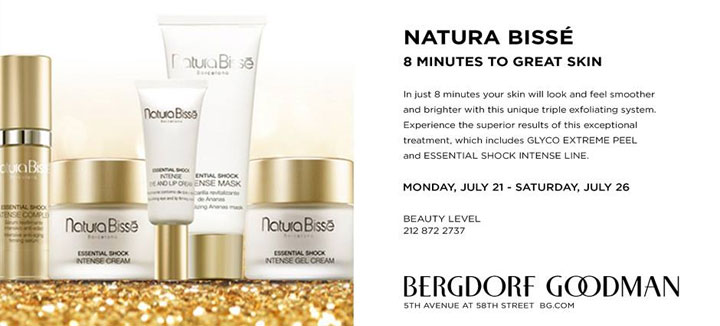 Natura Bissé 8 Minutes to Great Skin Beauty Event