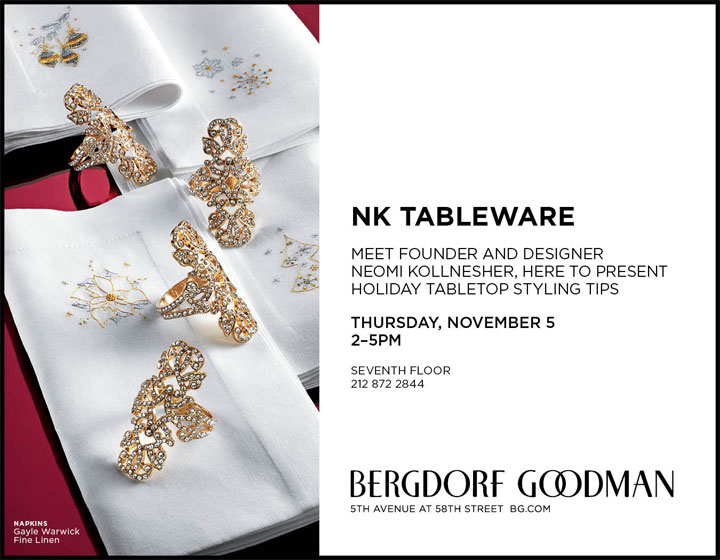 NK Tableware Holiday Event