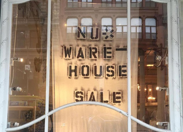 NU New York Sample Sale