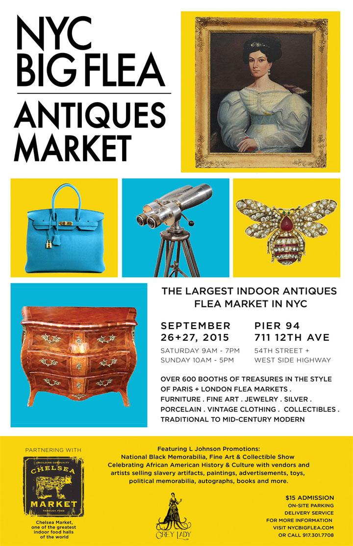 NYC Big Flea Antiques Market