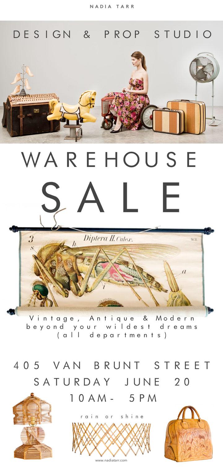 Nadia Tarr Warehouse Sale