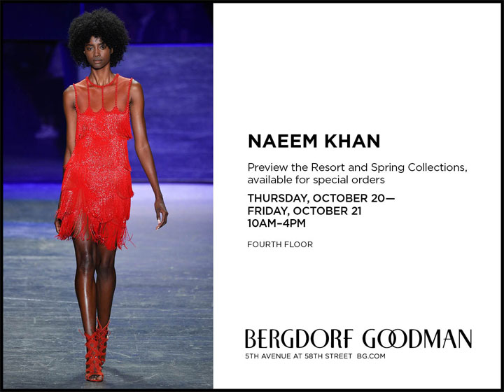 Naeem Khan Trunk Show