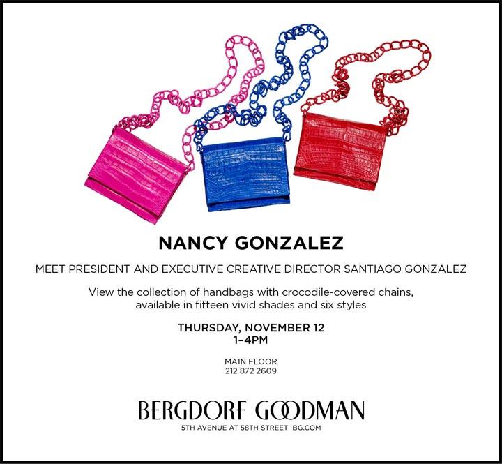 Nancy Gonzalez Trunk Show