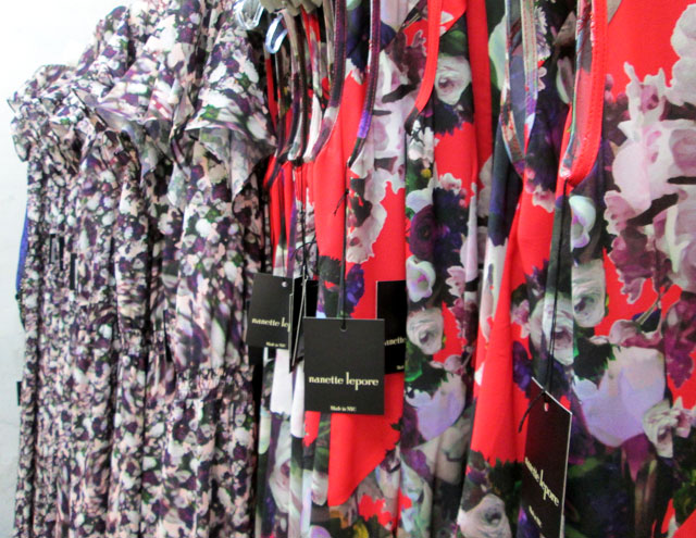Florals were the mega star of the sale