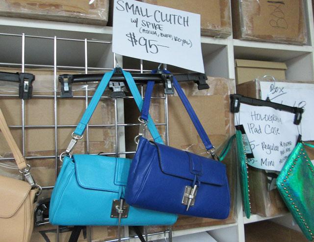 Handbags were all below $100