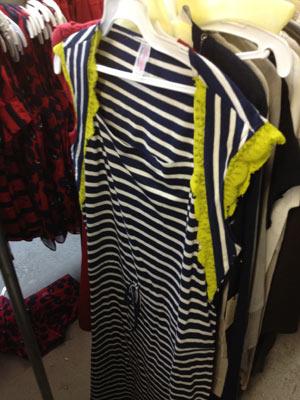 Navy Edmin Oonagh Sailor Dress ($100)