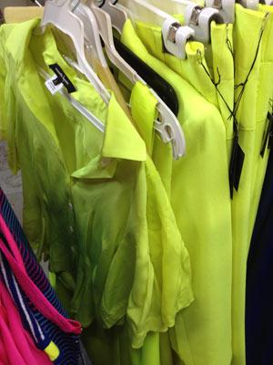 Neon Coral Club Dress ($145)