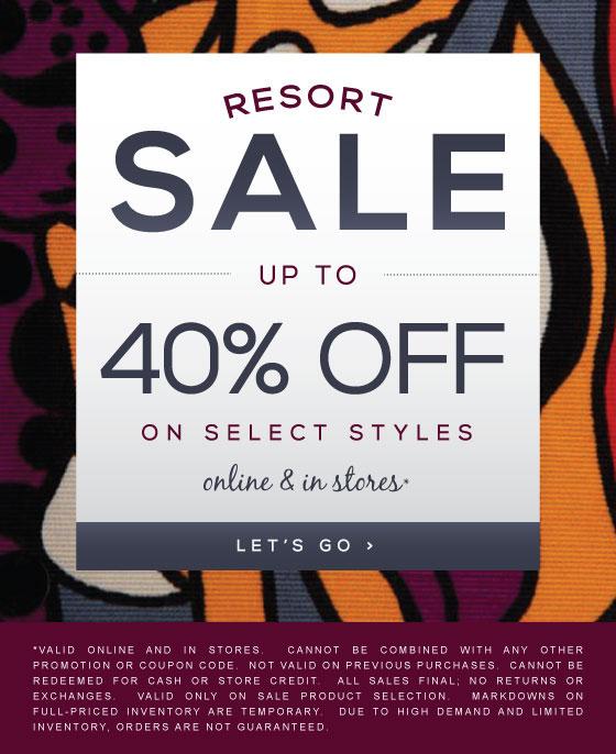 Nanette Lepore Resort Sale