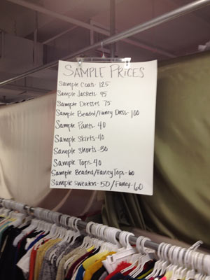 Nanette Lepore Sample Sale Prices