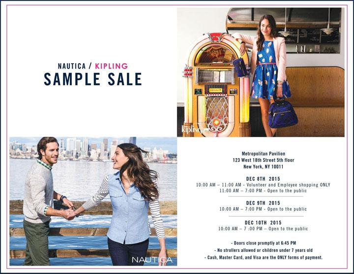 Nautica / Kipling Sample Sale