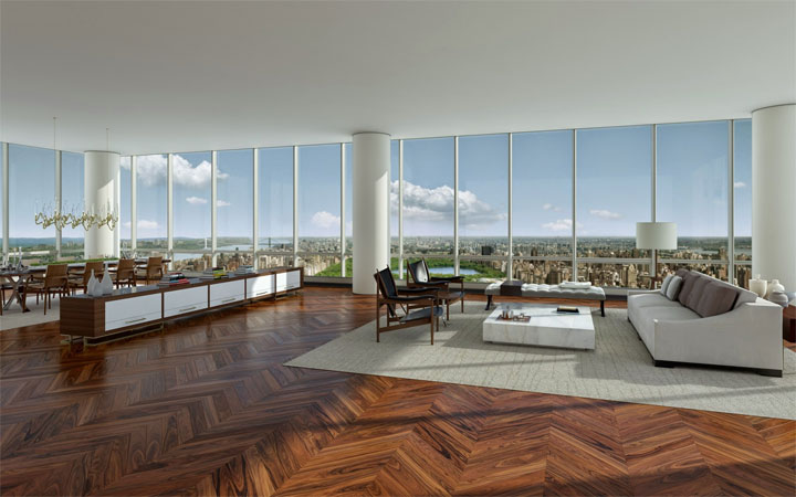 Friday Eye Candy: Check Out This Newly Purchased $100 Million NYC Apartment
