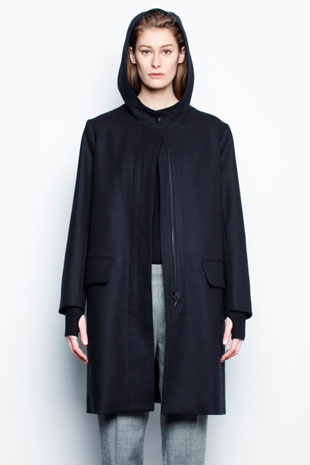 Nili Lotan Hooded Jacket: $566 (orig. $1299)