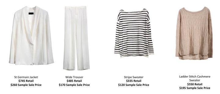 Nili Lotan Clothing New York Sample Sale - TheStylishCity.com
