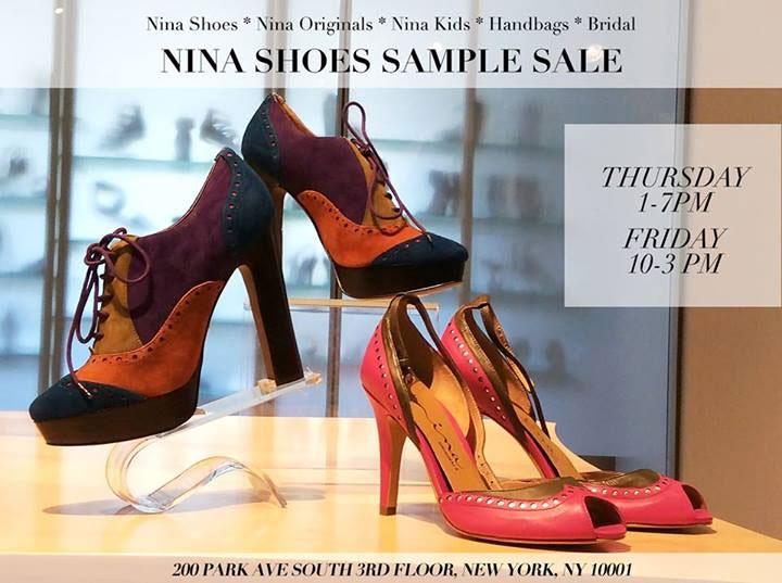 Nina & Delman Sample Sale