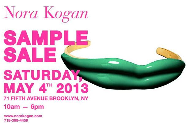 Nora Kogan Sample Sale