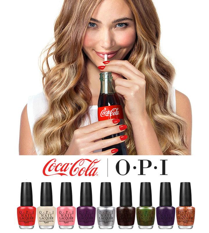OPI x Coca-Cola Pop-up