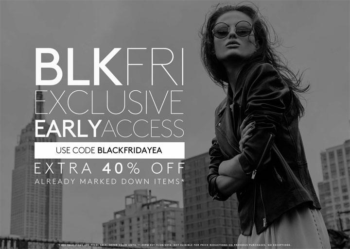 OTTE New York Black Friday Sale