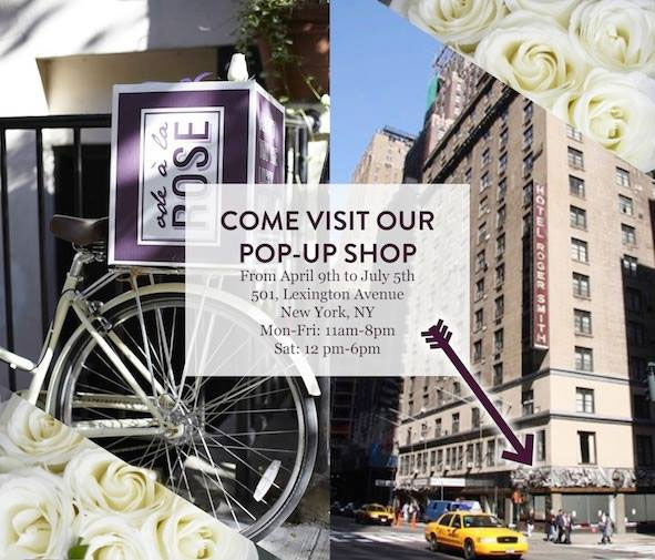 Ode a la Rose Pop-up Shop