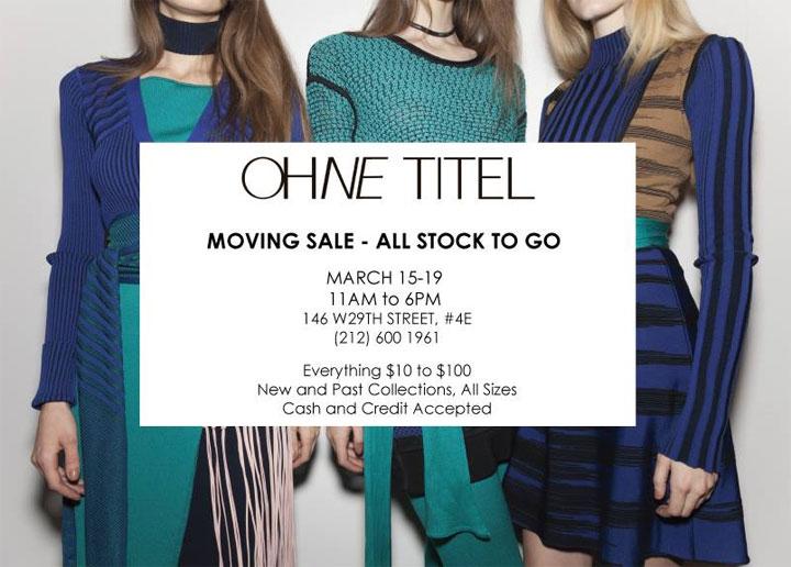Ohne Titel Moving Sample Sale