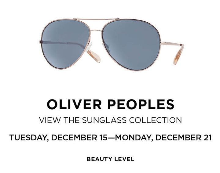 Oliver People Trunk Show