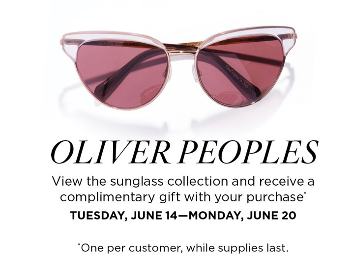 Oliver Peoples Trunk Show