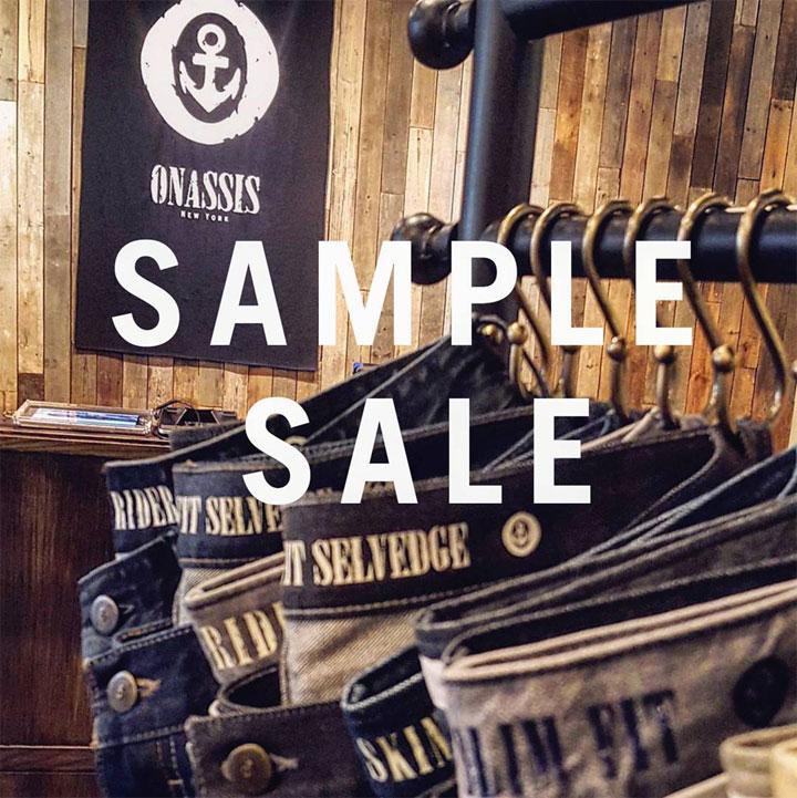 Onassis Sample Sale