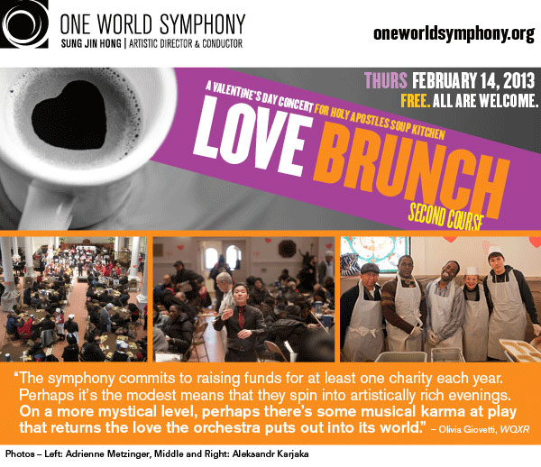 One World Symphony Valentine Concert: Love Brunch