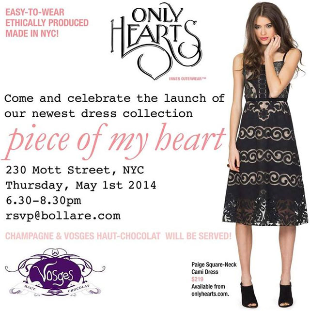 Only Hearts 'Piece of My Heart' Launch Event