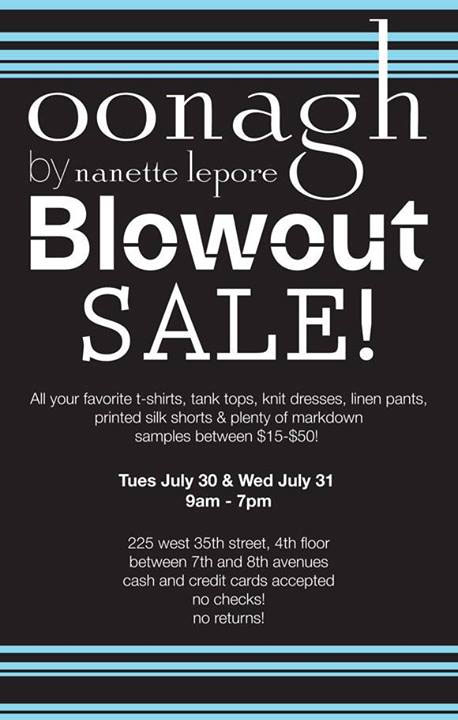 Oonagh by Nanette Lepore Sample Sale